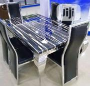 High Quality 6-Seater Marble Dining Table | Furniture for sale in Enugu State, Enugu