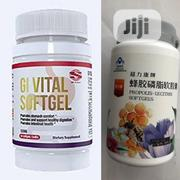 Gi Vital Softgel Propolis-Lecithin ( Natural Treatment for Ulcer) | Vitamins & Supplements for sale in Lagos State, Maryland