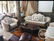 Royal Sofa and Center Table | Furniture for sale in Lagos State, Lekki Phase 1