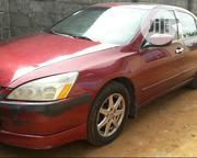 Honda Accord 2003 Automatic Red | Cars for sale in Lagos State, Alimosho