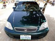 Honda Civic 2000 LX 4dr Sedan Green | Cars for sale in Niger State, Chanchaga