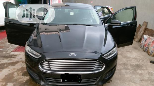 Archive: Ford Fusion 2014 Black