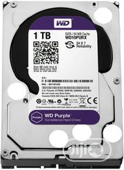 Western Digital 1TB Purple Surveillance Internal Hard Drive (WD) | Computer Hardware for sale in Lagos State, Ikeja