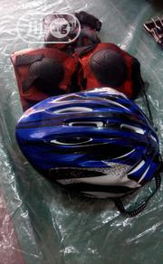 Biscycle Helmet And Guard   Sports Equipment for sale in Lagos State, Ikeja