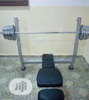 Commercial Weight and Bench Press   Sports Equipment for sale in Lagos State, Ikeja