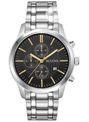 Bulova Chronograph Silver Chain Watch | Watches for sale in Lagos State, Lagos Island