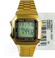 Casio Digital Gold Chain Watch | Watches for sale in Lagos State, Lagos Island