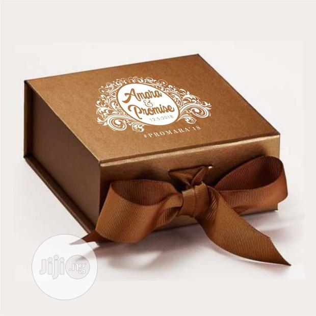 Archive: Custom Made Gift Boxes Available