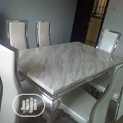 Superb Distint Marble Top Dining Table | Furniture for sale in Lagos State, Lekki Phase 2