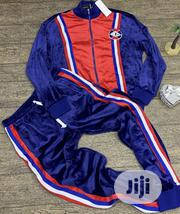 Gucci Men'S Tracksuit Blue Red | Clothing for sale in Lagos State, Ikeja
