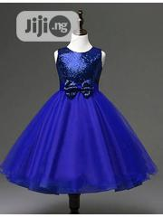 Sequin and Satin Party Dress. | Children's Clothing for sale in Lagos State, Surulere