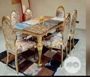 Gold Frame Dinning Table | Furniture for sale in Abuja (FCT) State, Central Business District