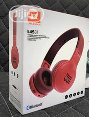 JBL E45BT Wireless On-ear Earphones Red | Headphones for sale in Lagos State, Ikeja