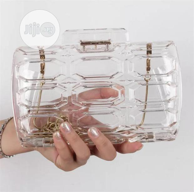 New Quality Female Transparency Shoulder Clutches Purse