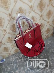 Quality Female Red Genuine Leather Handbag   Bags for sale in Lagos State, Amuwo-Odofin