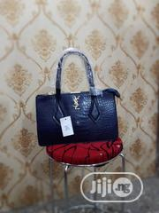New Quality Female Blue Genuine Leather Hand Bag   Bags for sale in Lagos State, Amuwo-Odofin