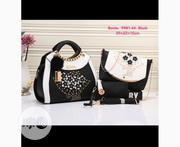 New Female Black Bonia Leather 3 in 1 Handbags | Bags for sale in Lagos State, Amuwo-Odofin