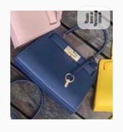 New Female Blue Quality Leather Handbag | Bags for sale in Lagos State, Amuwo-Odofin