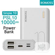 Romoss Simple-10 Full 10,000mah Power Bank With Multiple Ports | Accessories for Mobile Phones & Tablets for sale in Lagos State, Ikeja