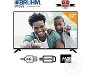 Bruhm 32-inch BFP-32LEW LED TV- Black With FREE Wall Bracket | TV & DVD Equipment for sale in Lagos State, Surulere