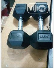Pair of Hex 25kg Commercial Dumbbell(12.5kg Each) | Sports Equipment for sale in Abuja (FCT) State, Central Business District
