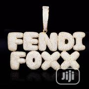Custom Name Ice Double Layer Pendant   Jewelry for sale in Lagos State, Ikeja