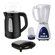 Nexus Blender + 1.7 Kettle + Sandwich Maker With Grill. | Kitchen Appliances for sale in Lagos State, Magodo