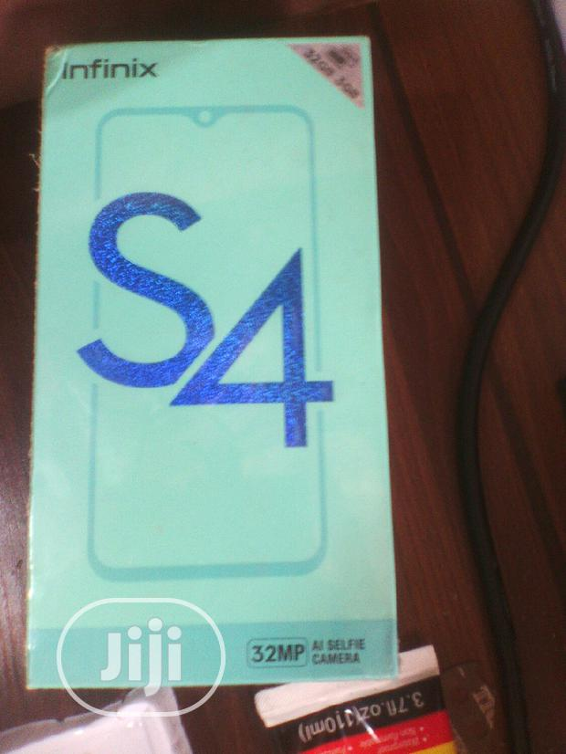 Archive: New Infinix S4 32 GB Blue
