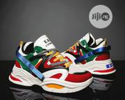 Men's Colourful Sneakers / Sports Shoes - Red/Multicolor | Shoes for sale in Lagos State, Lagos Island
