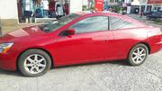 Honda Accord 2003 Coupe Red | Cars for sale in Lagos State, Ikeja