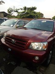 Toyota Highlander 2005 Red | Cars for sale in Lagos State, Apapa