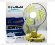 Rechargeable Fan With Led Light | Home Appliances for sale in Lagos State, Lagos Mainland