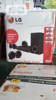 LG Home Theart Small Box With Four Spearker And One Woofer | Audio & Music Equipment for sale in Lagos State, Surulere