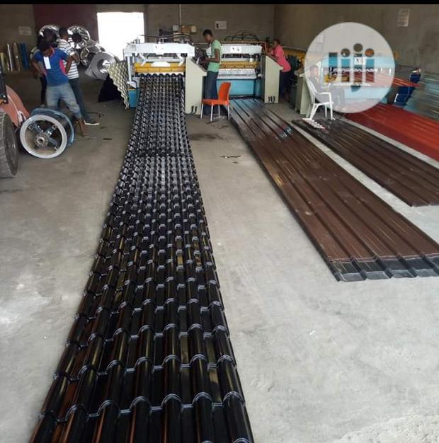 Strong Quality Steptile Metcopo And Longspan Aluminum Roofing Sheets