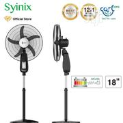 "Syinix 18"" Rechargeable Standing Fan FSS-18R-502R 
