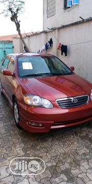 Toyota Corolla 2008 1.8 LE Red | Cars for sale in Abuja (FCT) State, Gaduwa