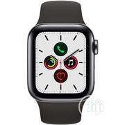 Iwatch Series 5 40mm GPS+Cellular Stainless Steel   Smart Watches & Trackers for sale in Lagos State, Ikeja