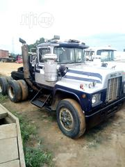 Mack R Model Double Axle With Camel Spring 1986 Silver | Trucks & Trailers for sale in Abia State, Aba South