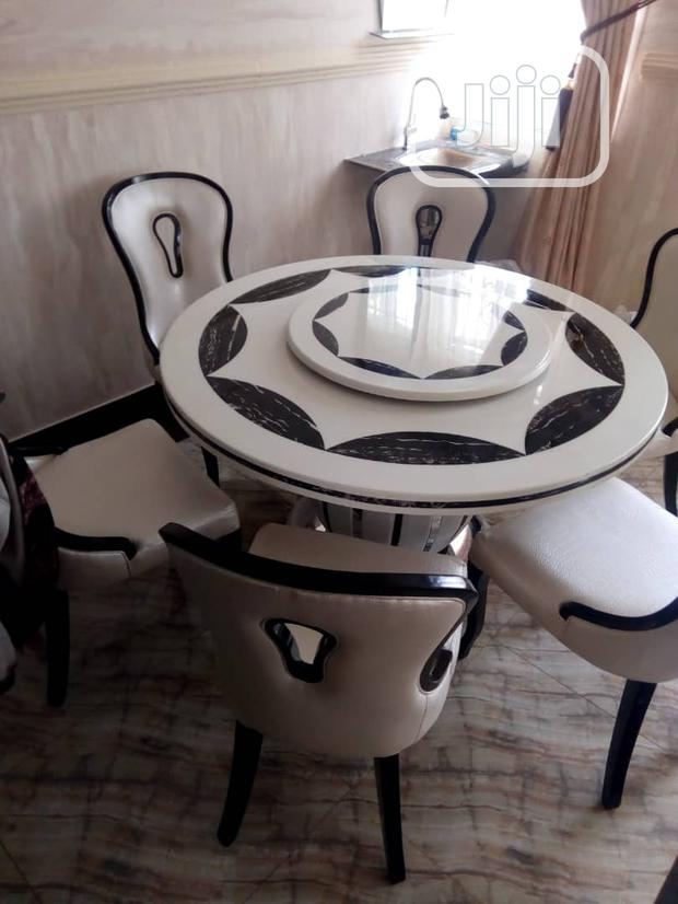 Set Of Marble Dinning