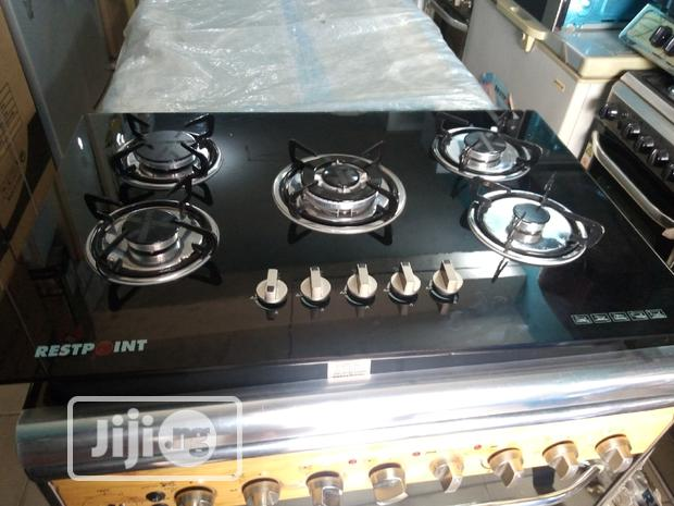 Restpoint 5burners All Gas Automatic Ignition 3years Warranty