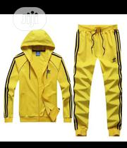 Adidas Yellow Tracksuit and Pants | Clothing for sale in Lagos State, Surulere
