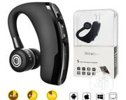 V9 Ear Wireless Bluetooth Headset - Lightweight | Accessories for Mobile Phones & Tablets for sale in Lagos State, Ojo