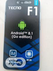 New Tecno F1 8 GB Blue | Mobile Phones for sale in Lagos State, Alimosho