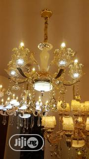 Latest Design Of By 6 Fingers Crystal Chandelier | Home Accessories for sale in Lagos State, Ojo