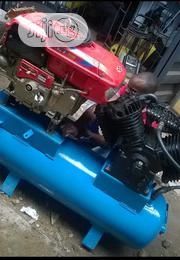 Mobile Air Compressor With Engine 300liters | Manufacturing Equipment for sale in Lagos State, Ojo