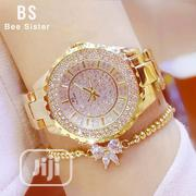 Women Watch Gold With Sets of Earrings | Watches for sale in Lagos State, Ikeja