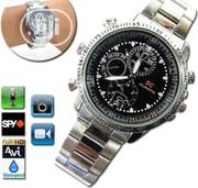 Spy Camera HP/DVR Stainless Steel Watch | Watches for sale in Lagos State, Ikeja