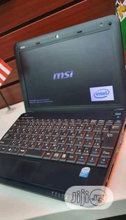 Laptop MSI Wind U100 2GB HDD 60GB   Laptops & Computers for sale in Lagos State, Oshodi-Isolo