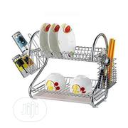 Stainless Double Layer Kitchen Utensil, Dish/Plate Rack | Kitchen & Dining for sale in Lagos State, Lagos Island