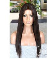 """20"""" Human Hair Wig With Closure 